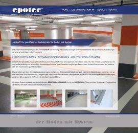 epotec® Boden mit System